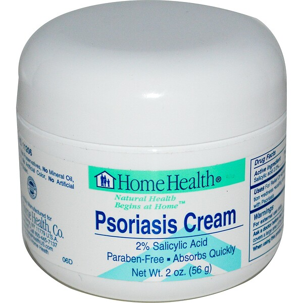 Home Health, Psoriasis Cream, 2 oz (56 g)