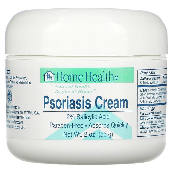Home Health, Psoriasis Cream, 2 oz (56 g)