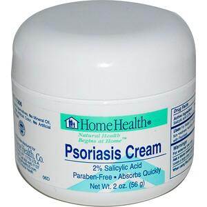 Хоум Хэлс, Psoriasis Cream, 2 oz (56 g) отзывы покупателей