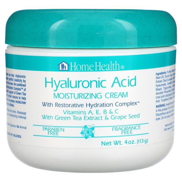 HyaluronsΣure, Feuchtigkeitscreme mit aufbauendem Feuchtigkeitskomplex, 4 oz. (113 g)