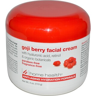 Home Health, Creme Facial de Goji Berry, 4 oz. (113 g)