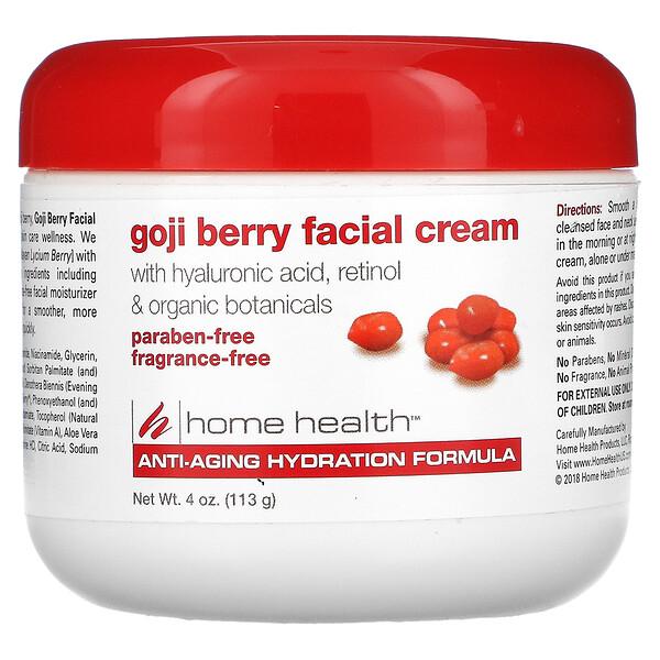 Goji Berry Facial Cream, 4 oz (113 g)