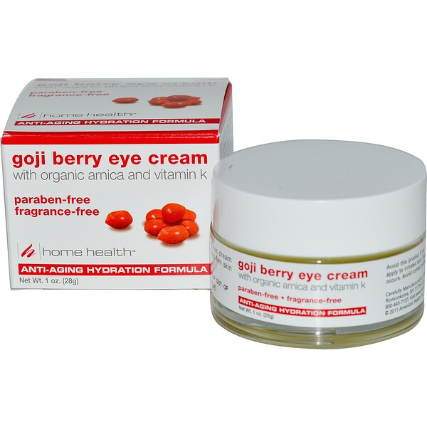 Home Health, Goji Berry Eye Cream, 1 oz (28 g)