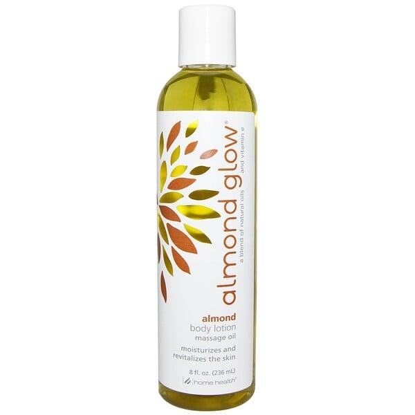 Home Health, Almond Glow, Body Lotion, Almond, 8 fl oz (236 ml) (Discontinued Item)