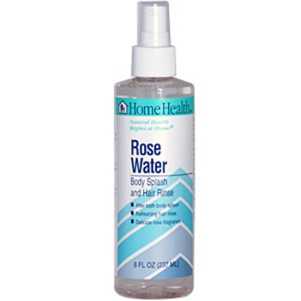Home Health, Rose Water, Body Splash and Hair Rinse, 8 fl oz (237 ml) (Discontinued Item)