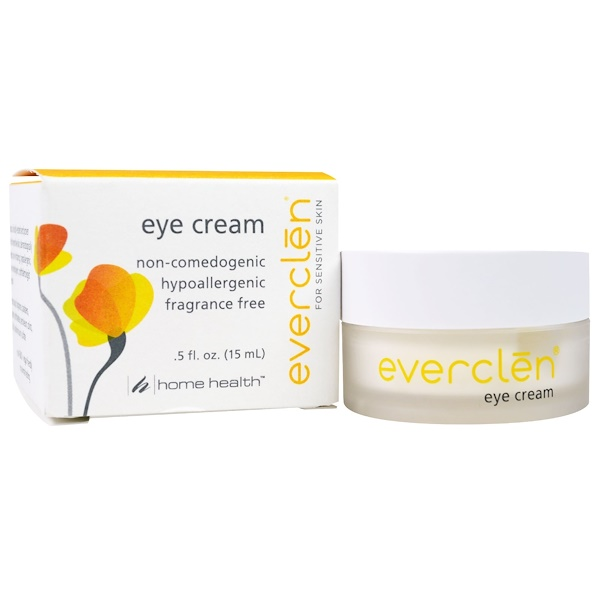 Home Health, Everclen, Eye Cream, 0.5 fl oz (15 ml) (Discontinued Item)