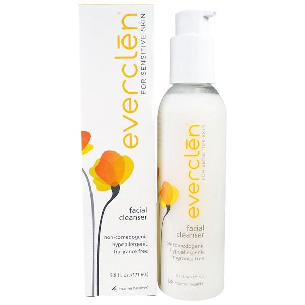 Home Health, Everclen, Facial Cleanser, 5.8 fl oz (171 ml) (Discontinued Item)