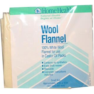Home Health, ウール製フランネル、 スモール、 1枚