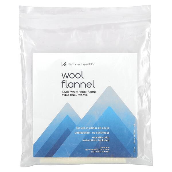 Wool Flannel, Small, 1 Flannel