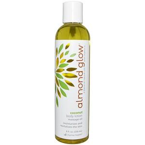 Хоум Хэлс, Almond Glow, Body Lotion, Coconut, 8 fl oz (236 ml) отзывы покупателей
