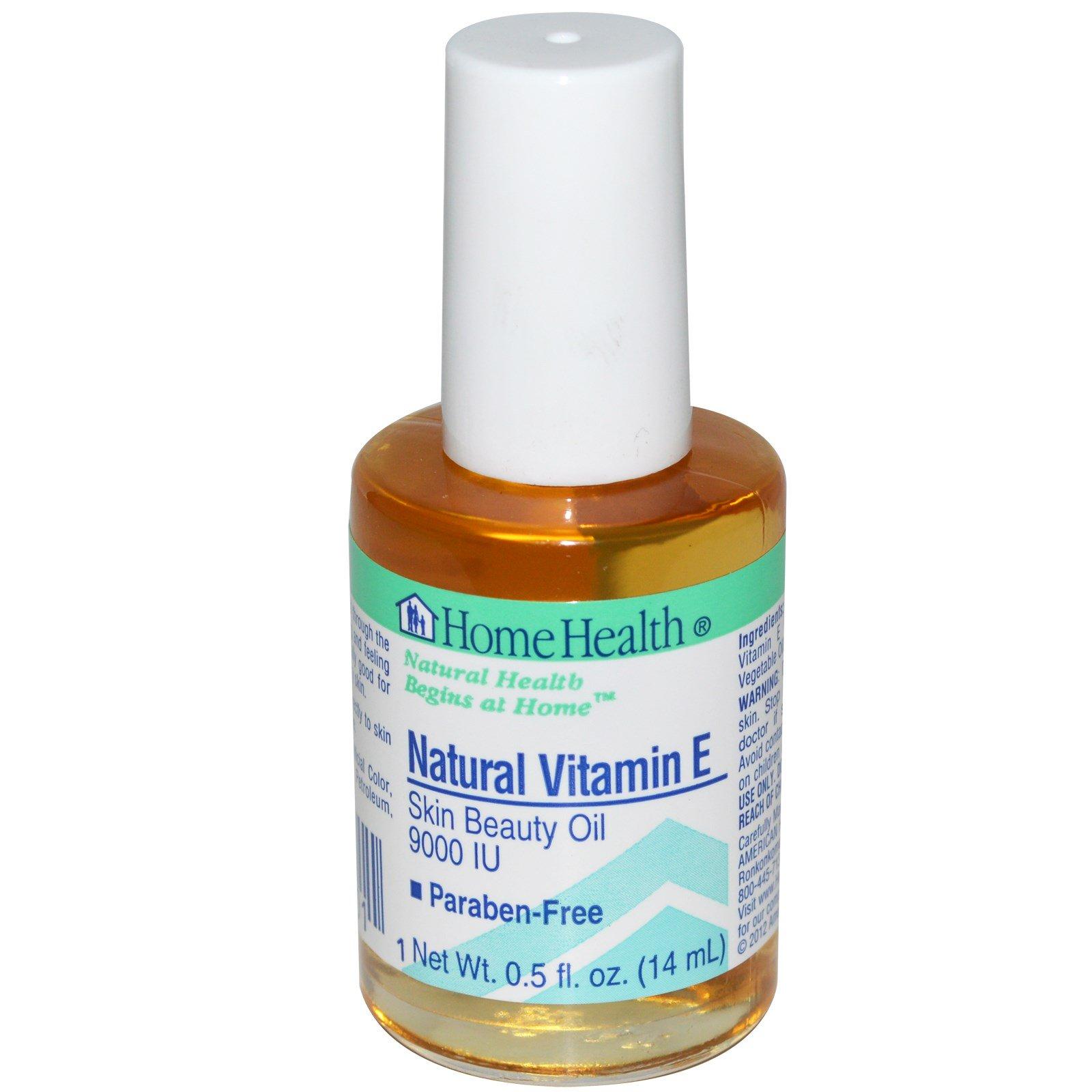 Home Health, Натуральный витамин Е, 0,5 жидких унции (14 мл)