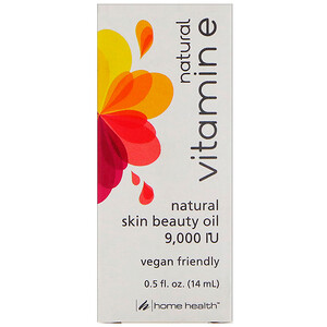 Хоум Хэлс, Natural Vitamin E, 0.5 fl oz (14 ml) отзывы