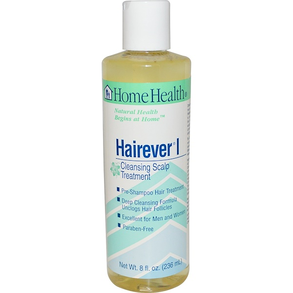 Home Health, Hairever I, Cleansing Scalp Treatment, 8 fl oz (236 ml) (Discontinued Item)