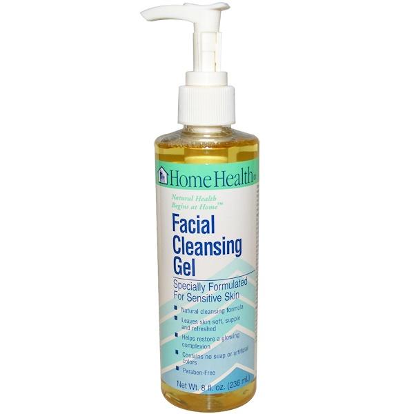 Home Health, Facial Cleansing Gel, 8 fl oz (236 ml) (Discontinued Item)