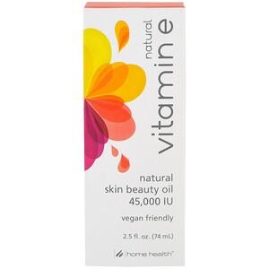 Хоум Хэлс, Natural Vitamin E Oil, 45,000 IU, 2.5 fl oz (74 ml) отзывы
