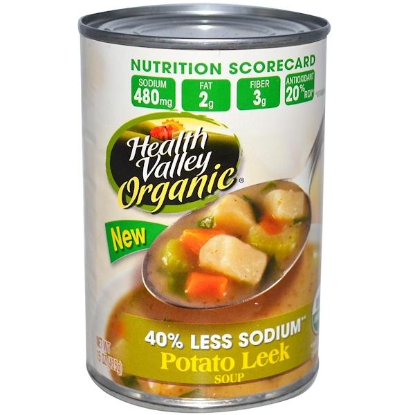 Health Valley, Органический Суп с Картофелем и Луком Пореем 15 унции (425 г) (Discontinued Item)