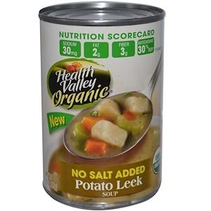 Хэлс Валлей, Organic, Potato Leek Soup, 15 oz (425 g) отзывы