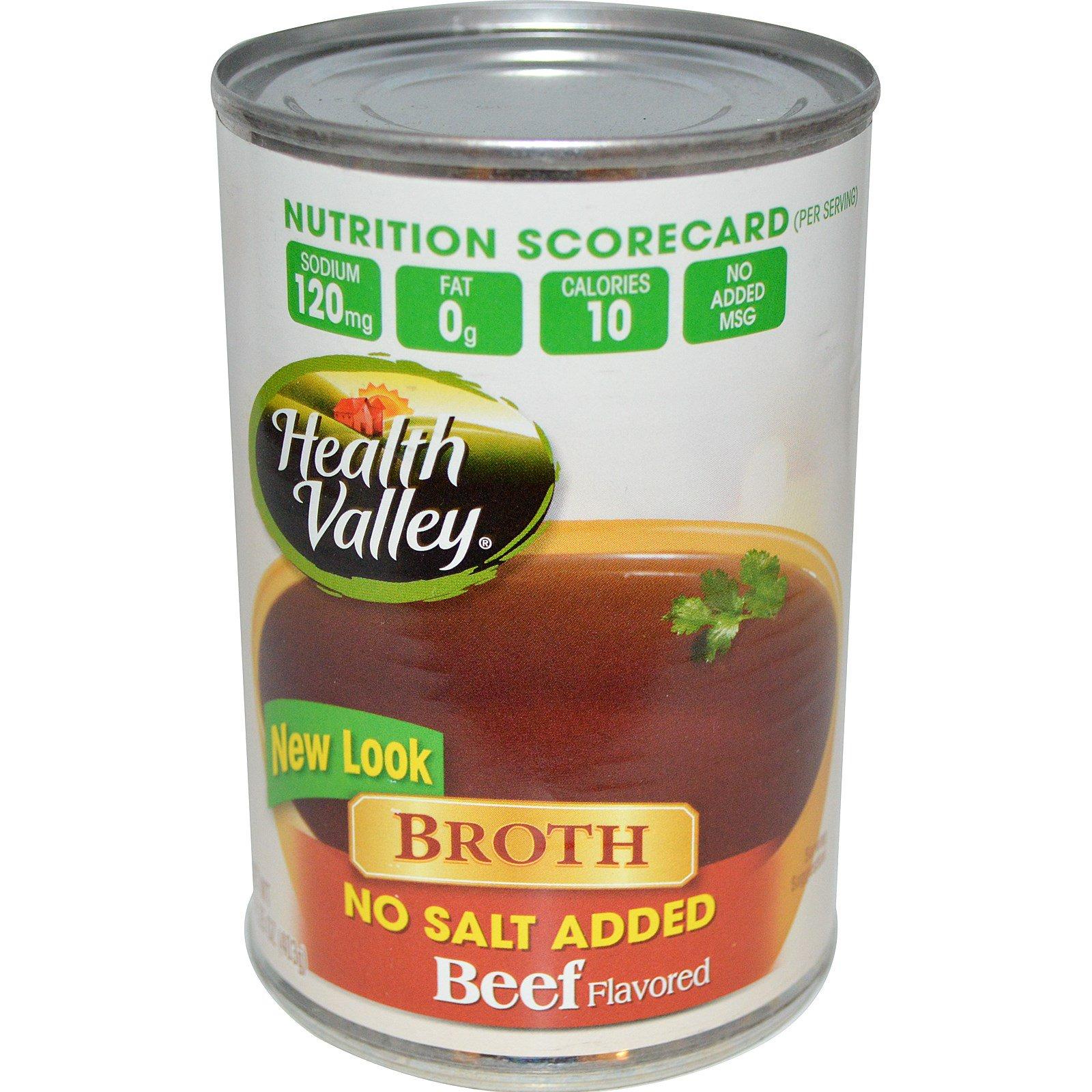 No salt broth