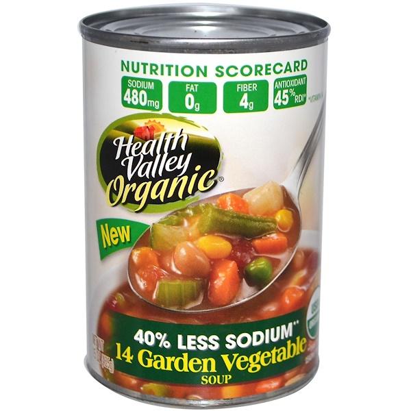 Health Valley, Органический суп, 14 садовых овощей, 15 унций (425 г)
