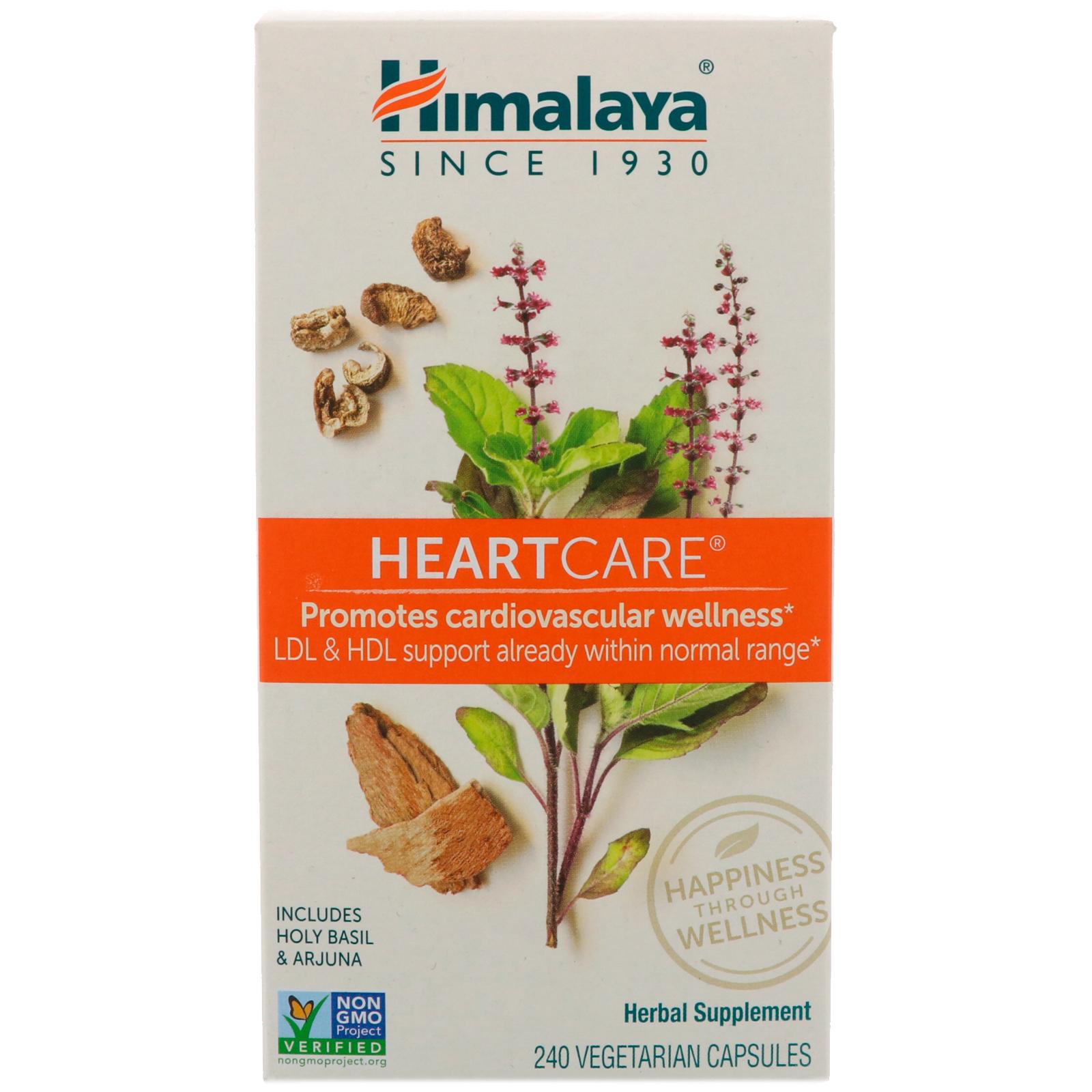 Himalaya Heartcare 240 Vegetarian Capsules Iherb Com