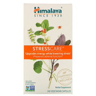 Himalaya, StressCare، 240 كبسولة نباتية