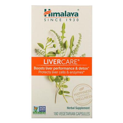 Купить Himalaya Liver Care, 180 вегетарианских капсул
