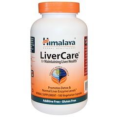 Himalaya, Liver Care (забота о печени), 180 вегетарианских капсул