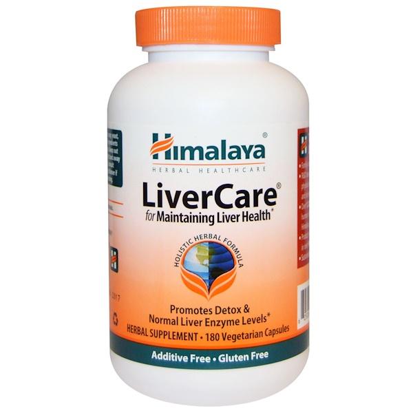 Himalaya, Liver Care, 180 Vegetarian Capsules