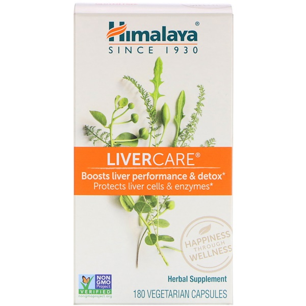 Himalaya, Liver Care، عدد 180 كبسولة نباتية