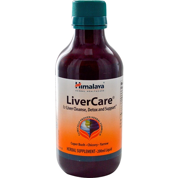 Himalaya, LiverCare, 200 ml (Discontinued Item)