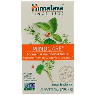Himalaya, MindCare, 60 Vegetarian Capsules