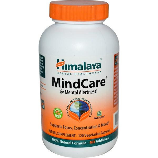 Himalaya, MindCare, 120 Veggie Caps (Discontinued Item)