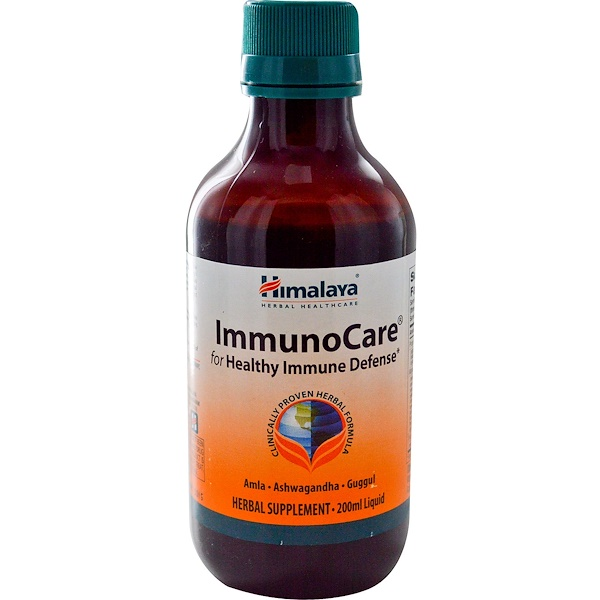 Himalaya, ImmunoCare, 200 ml (Discontinued Item)