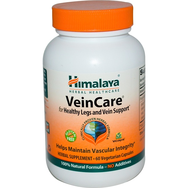 Himalaya, VeinCare, 60 Veggie Caps (Discontinued Item)