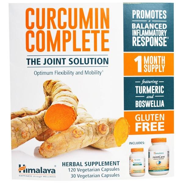 Himalaya, Curcumin Complete, Gluten Free, 120 Veggie Caps + 30 Veggie Caps (Discontinued Item)