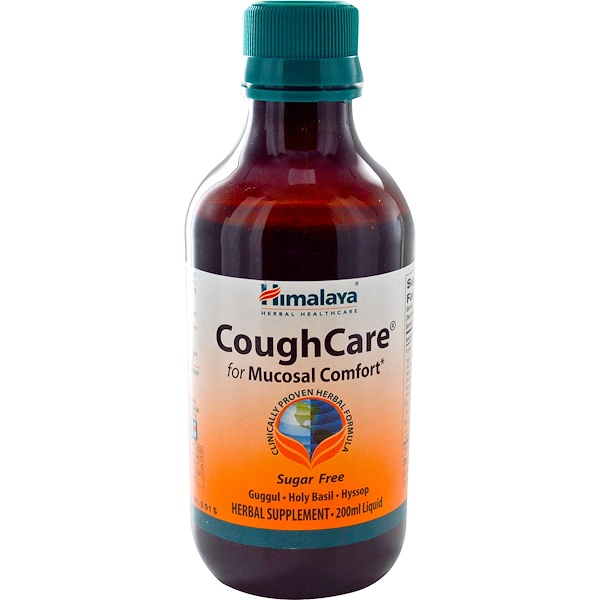 Himalaya, CoughCare, Sugar Free, 200 ml (Discontinued Item)