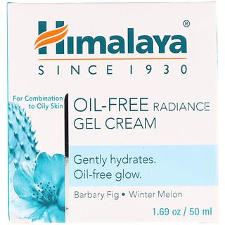 Himalaya, Oil-Free Radiance Gel Cream, Winter Melon, 1.69 oz (50 ml)