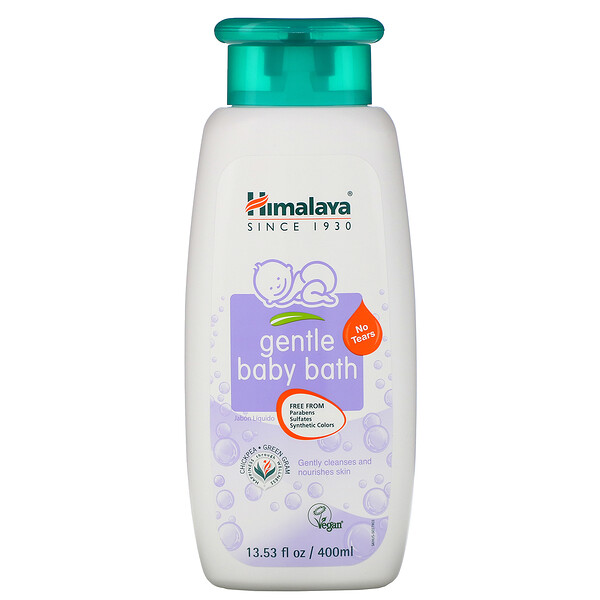 Himalaya, Gentle Baby Bath, 13.53 fl oz (400 ml)