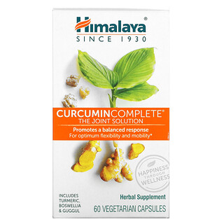Himalaya, Curcumin Complete, The Joint Solution, 60 Vegetarian Capsules