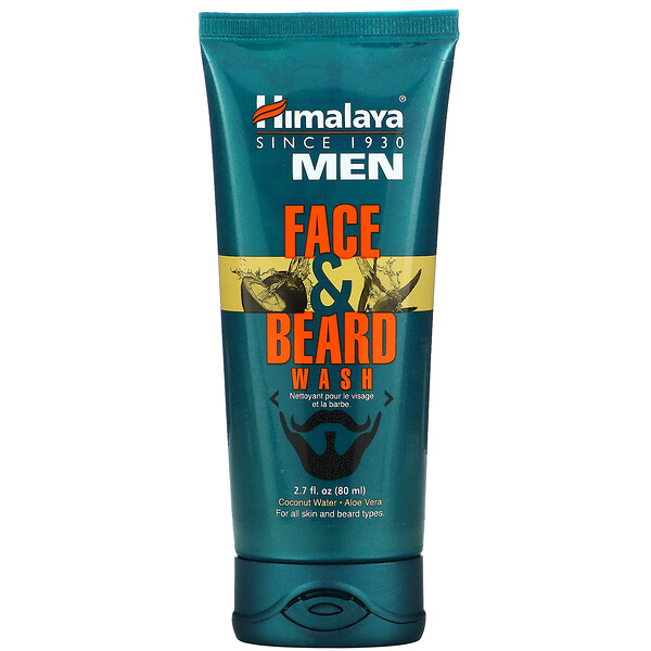 Men, Face & Beard Wash, 2.7 fl oz (80 ml)