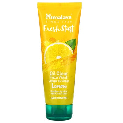 Купить Himalaya Fresh Start, Oil Clear Face Wash, Lemon, 3.4 fl oz (100 ml)