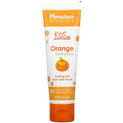 Himalaya Kids, Orange Toothpaste, 4.0 oz ( 113 g)