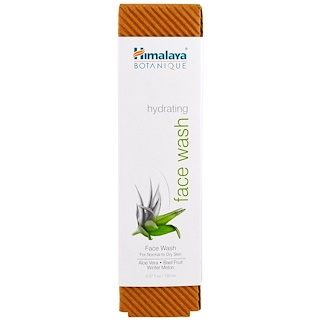 Himalaya, Botanique, Sabonete Facial Hidratante, para Pele Normal a Seca, 150 ml