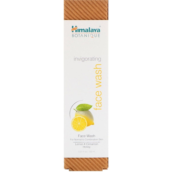 Himalaya, Botanique, Invigorating Face Wash, For Normal To Combination Skin, 5.07 fl oz (150 ml)