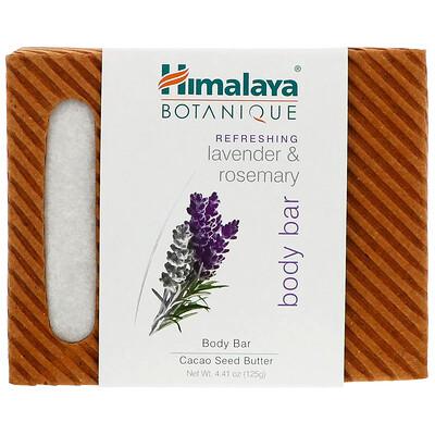 Купить Botanique, кусковое мыло для тела, освежающая лаванда и розмарин, 125 г