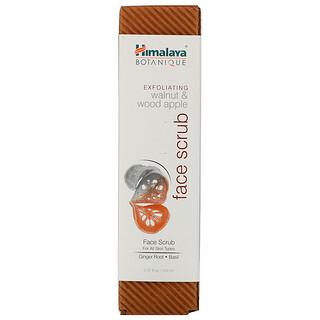 Himalaya, Botanique, Exfoliating Walnut & Wood Apple Face Scrub, 5.07 fl oz (150 ml)