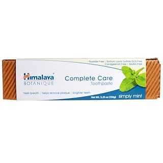 Himalaya, Botanique, Complete Care Toothpaste, Simply Mint, 5.29 oz (150 g)