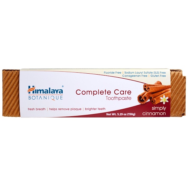 Himalaya, Botanique, Complete Care Toothpaste, Simply Cinnamon, 5.29 oz (150 g)