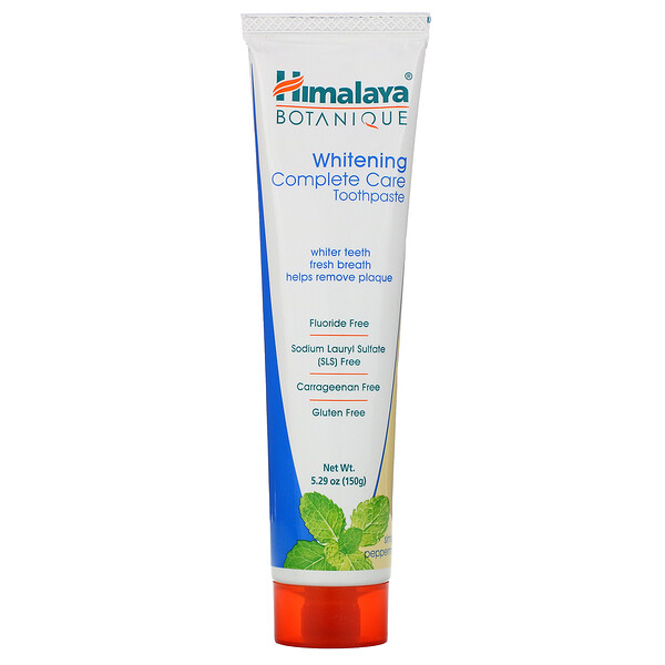 Botanique, Whitening Complete Care Toothpaste, Simply Peppermint, 5.29 oz (150 g)