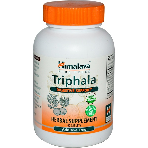 Himalaya, Triphala, 60 Comprimidos